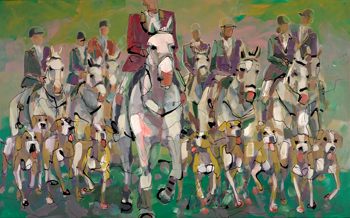 Our Team Spirit by marieke bekke -  sized 63x39 inches. Available from Whitewall Galleries